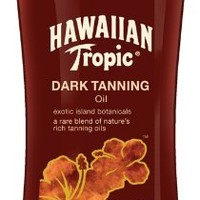 Hawaiian Tropic Dark Tanning Sun Care Moisturizing Oil - 8 Ounce
