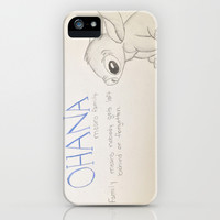 Lilo and Stitch iPhone & iPod Case by Elyse Notarianni