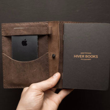 Miracolo Leather Notebook + iPhone Case