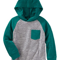 Hooded Raglan Tee