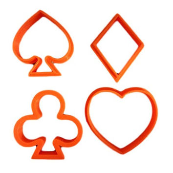 Playing Cards Cookie Cutter Set
