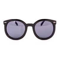 Chicwish Hollywood Style Sunglasses Black