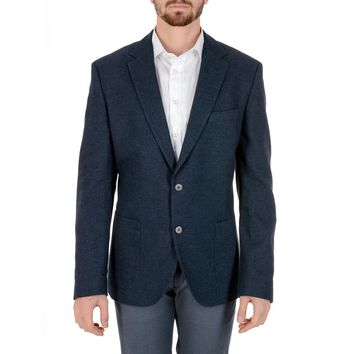 Hugo Boss Mens Jacket Long Sleeves Dark Blue JANSON