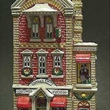 Dept 56 Snow Village Finklea's Finery: Costume Shop by Department 56