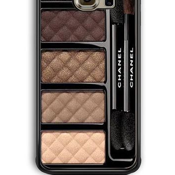Samsung Galaxy S6 Edge Case - Hard (PC) Cover with Chanel Ombres Matelassees Plastic Case Design