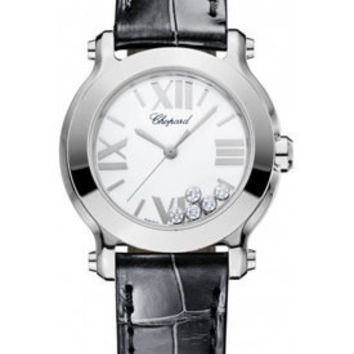 Chopard - Happy Sport - Round Mini - Stainless Steel