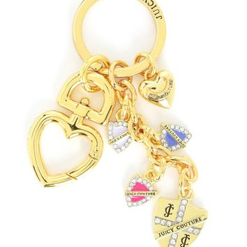 Gold Shield Keyfob by Juicy Couture, No