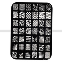 Beauty Accessories Nail Care Stamp Manicure Nail Tools Images Plates Polish (Size: One Size, Color: Multicolor) = 5658842049