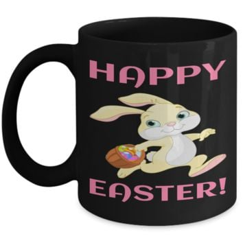 Fun Kid Mug Cup For Children Black Bpa Free Chocolate Cookies Jar Coloring Marker Holder Drink Mugs For Cocoa Milk Juice Best Affordable Holiday Gift For Kids 2017 2018 Happy Easter