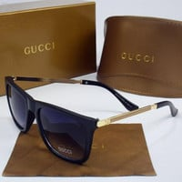 Perfect GUCCI Women Casual Popular Summer Sun Shades Eyeglasses Glasses Sunglasses