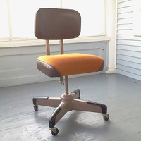 Vintage, Mid Century Modern, Hon, Desk Chair, Office Chair
