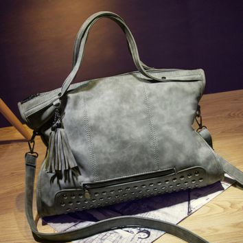 Retro Leather Crossbody Shoulder Bag Handbag