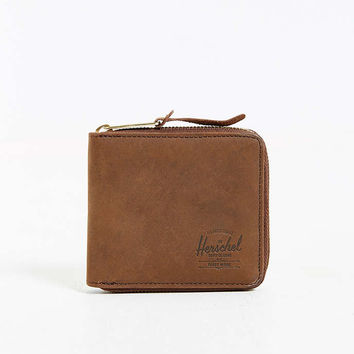 Herschel Supply Co. Walt Leather Zip Wallet - Urban Outfitters