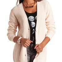 THICK KNIT GRANDFATHER CARDIGAN