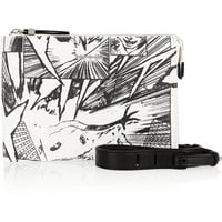 McQ Alexander McQueen - Manga printed leather shoulder bag