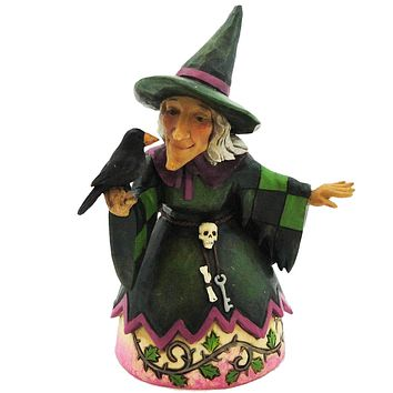 Jim Shore The Witching Hour Halloween Figurine