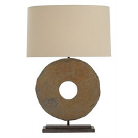Arteriors Home Emerson Slate/Natural Iron Table Lamp - Arteriors Home 42638-509