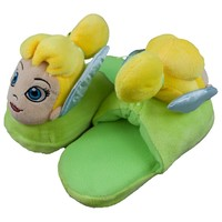 Tinkerbell - Big Face Plush Slippers
