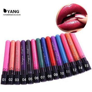 DK7G2 38 colors Waterproof  matte Lipstick not Moisture liquid lip stick lip gloss Long Lasting  red lipstick