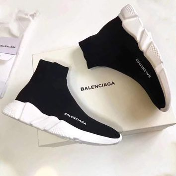 Balenciaga 2018 men and women casual sports running shoes lovers shoes F/A