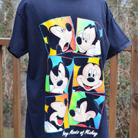 Vintage Mickey and Company Many Moods of Mickey Pajamas