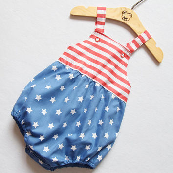 4th of July Unisex Baby Romper Baby Boy Romper Baby Girl Romper Baby Shower  Gift Bubble b57aba090