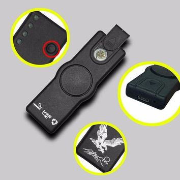 DCCKU7Q Fidget Spinner USB Lighting Cigarette Lighter Gyro Hand Spinner For Autism and ADHD Rotation Time Long Anti Stress