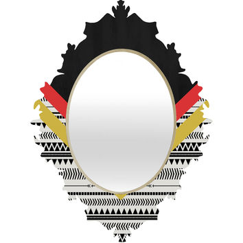 Allyson Johnson Mixed Aztec 2 Baroque Mirror