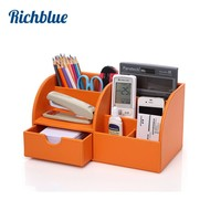 Ever Perfect Desktop Organizer Stationery Storage Box Pencil Holder For Desktop Home Decoration