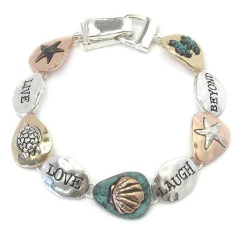 Sealife Theme Magnetic Bracelet