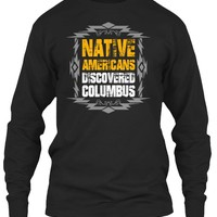 Native Americans Discovered Columbus