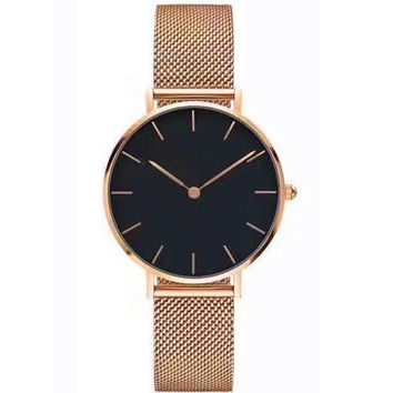 Great Deal Gift Awesome Good Price Trendy Designer's New Arrival Stylish Fashion Simple Design Stainless Steel Band Watch [11649524687]