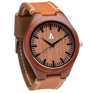 Wooden Watch // Bali Fire Rustic Amber
