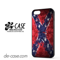 Confederate Rebel Flag Painting DEAL-2815 Apple Phonecase Cover For Iphone 5 / Iphone 5S