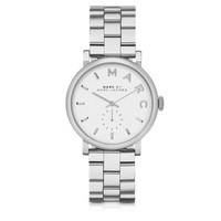 Marc by Marc Jacobs Designer Women's Watches Baker 33MM Silver Tone Stainless Steel Women's Watch