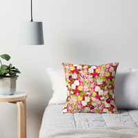 'Sweet & Sour #redbubble #decor #buyart' Throw Pillow by 83oranges