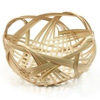 TGS | Shikainami Bamboo Basket Natural - New & Featured