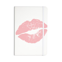 "Geordanna Cordero-Fields ""Pink Lips"" White Blush Everything Notebook"