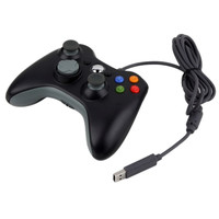 Wired USB Game Pad Joypad Controller For MICROSOFT Xbox 360 Slim PC xmas gift