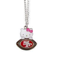 San Francisco 49ers Hello Kitty Necklace