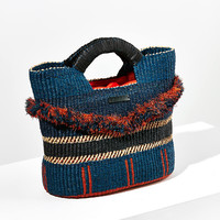 AAKS Gore Asyi Fringe Basket Tote Bag | Urban Outfitters