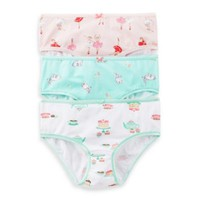 Carter's® 3-Pack Ballerina Panties in Assorted Designs