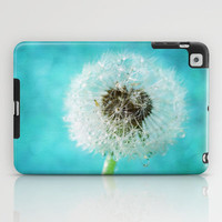dandelion-one iPad Case by Sylvia Cook Photography