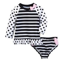 kate spade new york | Two-Piece Rashguard Swimsuit (Baby Girls) | Nordstrom Rack