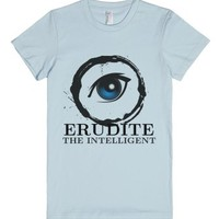 Erudite-Female Light Blue T-Shirt