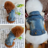 Blue Jean Small Dog or Pet Puppy Jacket