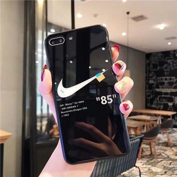 Nike X Off White Protective Iphone Case - Black
