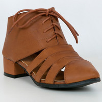 Melinda Cut-out Bootie