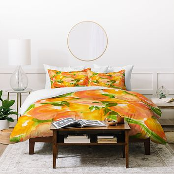 Rebecca Allen Our Summer Garden Duvet Cover