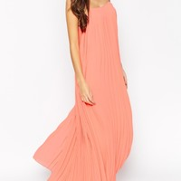 ASOS PETITE Maxi Dress with Pleats
